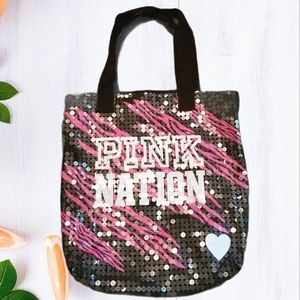 PINK by VS Sequined Tote